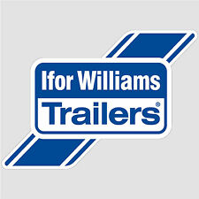 Ifor Williams Trailers Logo Sticker decal vinyl print self-adhesive A5 (15x21cm)