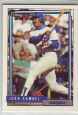 1992 Topps Baseball Los Angeles Dodgers Team Set With Traded