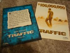 TRAFFIC 2 Oscar ads Benecio Del Toro, Stephen Gaghan, Steven Soderbergh