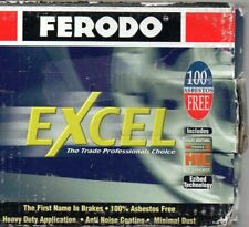 Ferodo Excel Mazda 626 (1992-1997) Rear Brake Pads Part No. DB1254XL