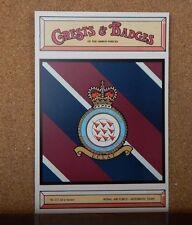 Royal Air force Aerobatic Team Crests & Badges of armed  services postcard