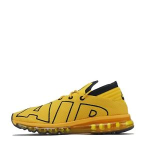 Nike Men's Air Max Flair Trainers Shoes University Gold Black