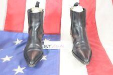 Stivali TONY MORA (Cod. ST2014) USATO N.41 UOMO pelle nero Texani Cowboy Country