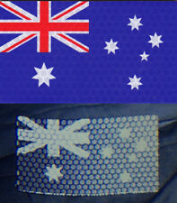 Australian Flag Patch SOLAS Reflective Army Patch IR Infrared Reflective