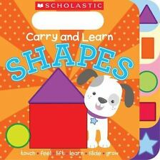 Carry and Learn Shapes, Scholastic, Good Book