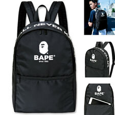 Japan Bape A Bathing Ape Backpack Bag Nylon School Travel Treasure Magazine Bag