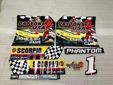 Sega Daytona USA 2 Arcade Cabinet 1 Artsets Stickers Parts Reproduction
