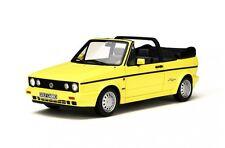 VW Golf I Cabrio 1991 gelb 1:18 Resin Ottomobile OT693 neu & OVP