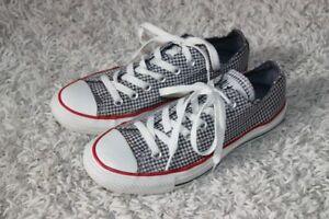 CONVERSE~All-Stars Chucks~37~38~23,5 cm~rare Karo-Sneaker~Schuhe low~superschön~