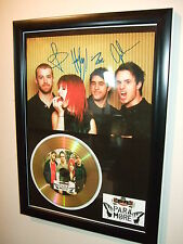 PARAMORE  SIGNED  GOLD CD  DISC   4433G