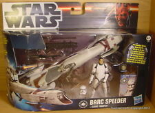 STAR WARS Clone BARC Speeder Bike with Clone Trooper MIB