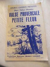 Partition Valse ProvençalePetite Fleur Charly Candson Music Sheet