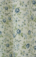 KINGSTON CHINA BLUE DAINTY FLORAL FABRIC BY CHATHAM GLYN - 140CM BY 75CM REMNANT