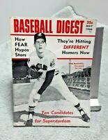 Baseball Digest May 1966 Sam McDowell Cleveland Indians