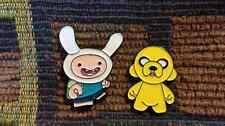 Finn and Jake Inspired Munny Dunny Vinyl Toy Look Enamel Lapel Hat Pin