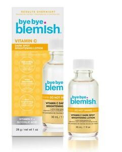 BYE BYE BLEMISH Vitamin C Dark Spot BRIGHTENING LOTION Treatment Acne Blemishes