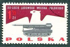 POLAND 1963 1z55 SG1416 used FG Polish People's Army Anniversary b #W27