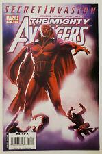 The Mighty Avengers #14 (2008, Marvel) VF Secret Invasion Avengers #57 Homage