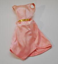Vintage barbie Pink Satin Dress Twist in Turn TNT