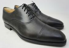 Magnanni Montarto Oxford Grey Leather Men's Shoes Size 10 M