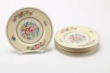 2 Ambassador Ware Hampton Court Bread and Butter Plates Simpson Potters England