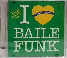 Nossa presents: I Love Baile Funk-Mixed by DJ Sujinho CD BRAND NEW