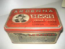 Ardenna tabac Semois Corbion Louis Lambert Tabak tobacco Boîte Tin Hoboken