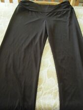 New  - Pull on Palazzo pants - Ladies - Size XL  - Dark Brown