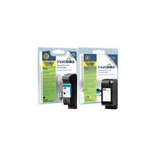 Moreinks Remanufactured HP 45/23 Black+Tri-Colour Ink Cartridge for HP Printers