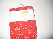 NWT GYMBOREE Girls MOD ABOUT ORANGE Red Orange Puppy Print Leggings Size 4T