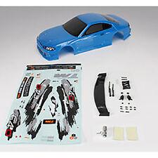 503319B E4D S15 Drift carrozzeria verniciata BLU con accessori 1/10 on road