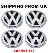 4x ALLOY WHEEL CENTRE HUB CAPS 66MM 3B7601171 VW AMAROK BEETLE CADDY MK3 CC EOS