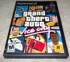 Grand Theft Auto: Vice City (Sony PlayStation 2, 2002) Complete