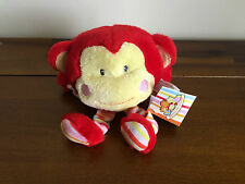 Russ Newborn Baby Monkey Soft Plush Boing Noise Toy