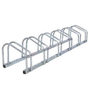 Bike Floor Parking 1-6 Rack Adjustable Bicycle Storage Organizer Stand Garage