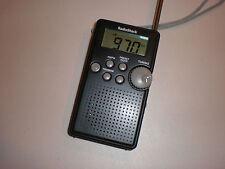 RadioShack 12-587 Digital AM/FM Pocket Radio Cat. No. 12-587