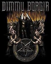 DIMMU BORGIR Flames Logo Sticker NEW OFFICIAL MERCHANDISE Rare