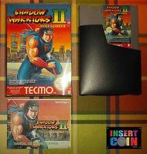 JUEGO NINTENDO NES SHADOW WARRIORS II  PAL B ESP   NES (LEER/READ!!)