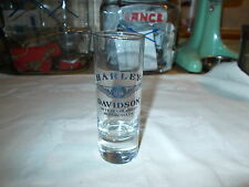 GENUINE HARLEY DAVIDSON 110TH AN. TALL SHOT GLASS / CORDIAL # 96859
