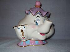 Rare Disney Cookie Jar Mrs Potts & Chip Nib Htf Disney Auctions Le 350 Blem
