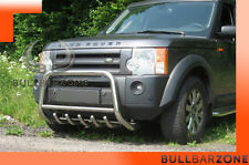 LAND ROVER DISCOVERY III 2004-2009 TUBO PROTEZIONE MEDIUM BULL BAR INOX