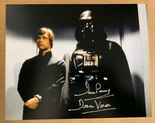 More details for autographed star wars dave prowse darth vader 8x10 hand signed picture 2