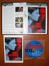 Hable con Ella (Talk to Her) [DVD] EL PAÍS, Pedro Almodóvar, Leonor Watling