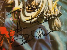 STEVE HARRIS AUTOGRAPHED / IRON MAIDEN THE NUMBER OF THE BEAST /