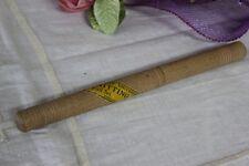 VECCHIO PORTA AGHI IN LEGNO L. 20 cm  / PORTA UNCINETTI  SHABBY CHIC/ CUCITO