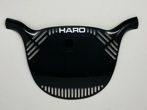 Black Series Haro Style Series One, Flo Panel and Color BMX Number Plates