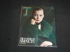 2013 NOVEMBER 3 THE NEW YORK TIMES STYLE MAGAZINE - SAOIRSE RONAN COVER- SP 7369