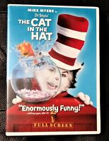 Dr. Seuss The Cat in the Hat (DVD, 2004, Full Edition)