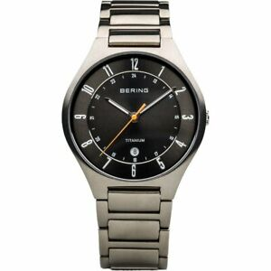 Bering Men's Wristwatch Titan Ultra Slim - 11739-772-1Titan