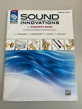 Sound Innovations for Concert Band Trombone Book 1, DVD Included